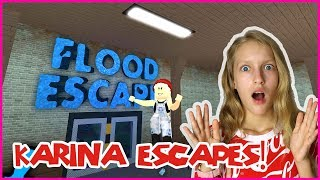 Download Karina Escapes the FLOOD! Video