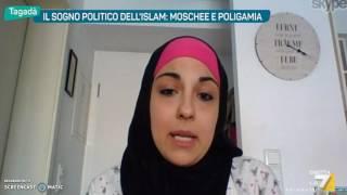 Download Tagadà la7 15 maggio 2017 interviene Rosanna Sirignano su Islam in Italia Video