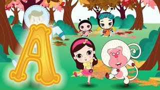 Download Letter A - Olive and the Rhyme Rescue Crew | Learn Alphabet | Nursery Songs | Letter A Song Video