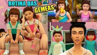 Download THE SIMS 4  ROTINA DA MANHÃ DAS GÊMEAS NAS FÉRIAS! Video