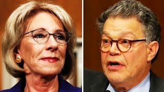 Download Al Franken SLAMS Betsy DeVos for Her Support of LGBTQ Conversion Therapy Video