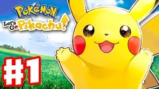 Download Pokemon Let's Go Pikachu and Eevee - Gameplay Walkthrough Part 1 - Intro and Gym Leader Brock! Video