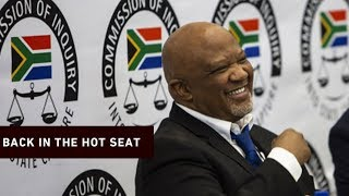 Download Mcebisi Jonas returns to state capture inquiry for cross-examination Video