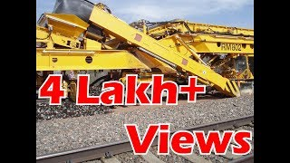 Download New Track Construction machine (NTC) in Indian railway Video