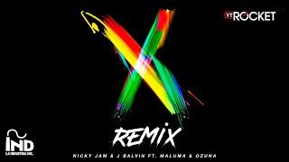 Download X Remix - Nicky Jam x J Balvin x Ozuna x Maluma Video