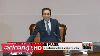 Download Korea's National Assembly passes impeachment motion against President Park Geun-hye Friday Video
