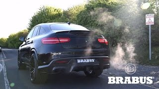 Download BRABUS 850 based on GLE 63 Coupé with valve controlled exhaust Video