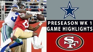 Download Cowboys vs. 49ers Highlights | NFL 2018 Preseason Week 1 Video