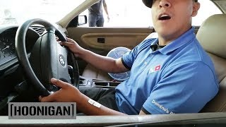 Download [HOONIGAN] DT 033: Forcing Pizza Boy to do Burnouts Video