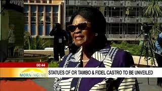 Download Statues of OR Tambo & Fidel Castro to be unveiled 2 Video