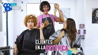 Download CLIENTES EN LA ESTÉTICA | CORTE Y QUEDA Video
