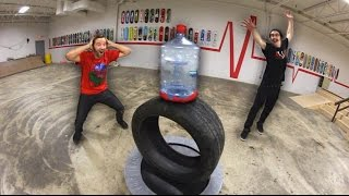 Download Ultimate GIANT Bottle Flipping Trick Shots! Video
