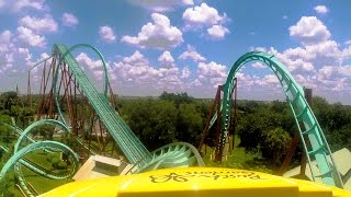 Download Kumba front seat on-ride HD POV @60fps Busch Gardens Tampa Video