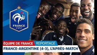 Download Equipe de France : France-Argentine, l'après-match des Bleus I FFF 2018 Video