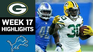 Download Packers vs. Lions | NFL Week 17 Game Highlights Video