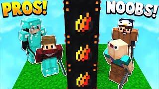 Download NOOBS vs PROS! | PRESTONPLAYZ LUCKY BLOCK WALLS! - Minecraft Mods Video