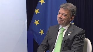Download Exclusive: Colombia's president on fighting FARC and the war on drugs Video