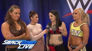 Download The Riott Squad introduce themselves: SmackDown LIVE, Nov. 28, 2017 Video