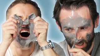 Download Guys Try The ″Most Painful″ Face Mask Video
