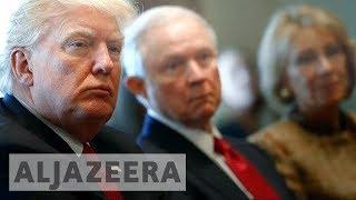 Download US: Trump attacks attorney general and calls him 'weak' Video