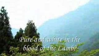 Download Are You Washed in the Blood? Video