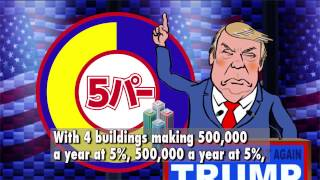 Download PRESIDENT TRUMP'S BUILDING LOVE by Japan's Abe Ryo Video
