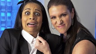 Download I'm Going To Be a WWE Wrestler!! (ft. Stephanie McMahon) Video