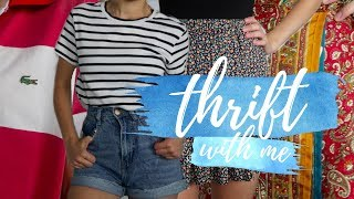 Download THRIFT WITH ME! | TRY-ON HAUL: LORNA JANE, LACOSTE & MORE! Video