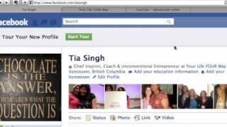 Download How to Link your Facebook Fan / Business Page to your New Facebook Profile in 2 minutes.mov Video