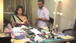 Download Anasuya At Makeup Room Video