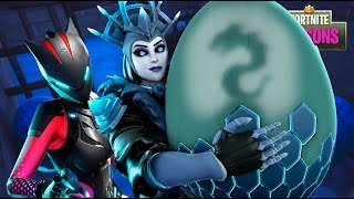Download Lynx STEALS The Ice Queen's BABY!! Fortnite Season 7 Film Video