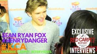 Download Sean Ryan Fox #HenryDanger interviewed at 2017 Kid's Choice Awards Red Carpet #KCA Video