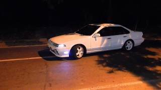 Download Nissan Cefiro A31 Burnout RB25DET Trinidad Point Fortin Video