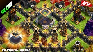 Download Clash Of Clans - TH9 (TOWN HALL 9) Trophy Base/Farming Base/ 2017 Video