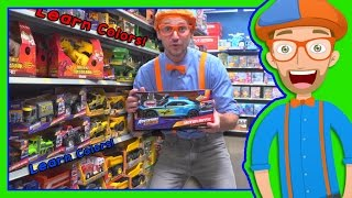 Download Learn Colors with Blippi Toy Store in 4K - Educational videos for Preschoolers Video