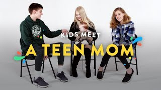 Download Kids Meet a Teen Mom | Kids Meet | HiHo Kids Video