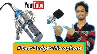 Download [Hindi] Best Budget Studio Microphone Under 2000/- Unboxing,Testing, features Full Explain working ! Video