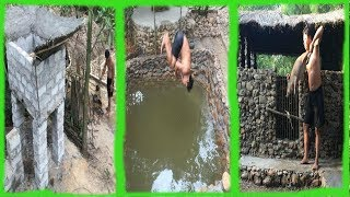 Download Primitive Life:Ancient Concrete-Pool and Pigsty!Next months in the forest! Video