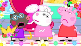 Download Peppa Pig Official Channel | Peppa Pig and Molly Mole, Who Should be the Queen at the Carnival? Video