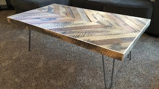 Download Chevron Coffee Table - Kraftmade Video