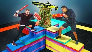 Download NERF Don't Fall Off The Mountain! Video