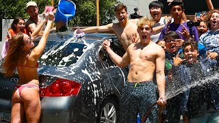 Download CAR WASH WITH FANS CARS Video
