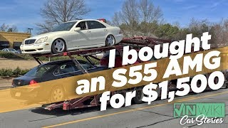 Download I Bought a Mercedes S55 AMG for $1,500 Video