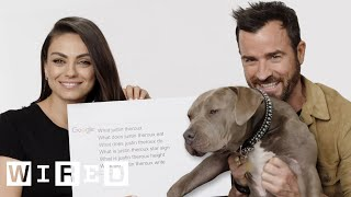 Download Mila Kunis & Justin Theroux Answer the Web's Most Searched Questions | WIRED Video