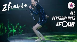 Download ZHAVIA: All Performances On 'The Four' | The Four Season 1 Video