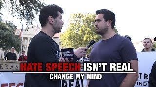 Download Hate Speech Isn't Real (2nd Edition) | Change My Mind Video