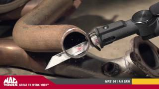 Download MPS1911 Heavy-Duty Geared Air Saw | Mac Tools Video
