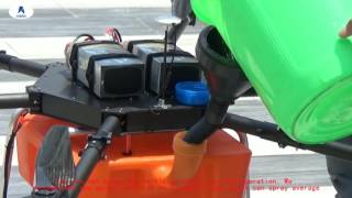 Download New agriculture drone operation Video