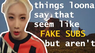 Download things loona say that seem like fake subs but aren't Video