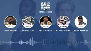 Download UNDISPUTED Audio Podcast (10.17.18) with Skip Bayless, Shannon Sharpe & Jenny Taft | UNDISPUTED Video